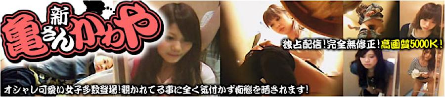 エロ動画:画質向上!新亀さん厠:おまんこ無修正